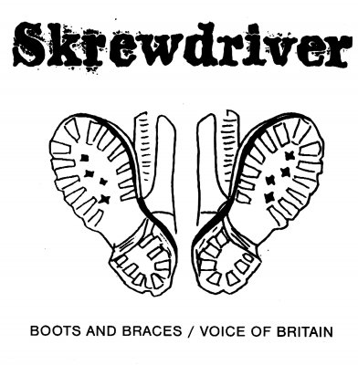 Skrewdriver - Boots and Braces / Voice of Britain [1978-1984] LOSSLESS