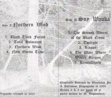 P.D. SS Totenkopf - Northern Wind / Sny Wauka (re-released demos) (2009)