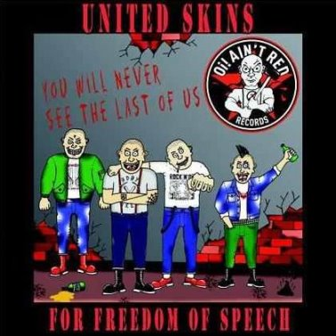 United Skins (VA) - For Freedom of Speech (2 CD 2011)