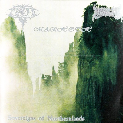 North / Grom / Marhoth - Sovereigns of Northernlands (1998) split