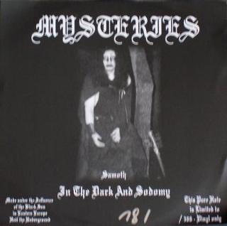 Mysteries - In The Dark And Sodomy (1993)