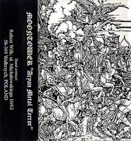 Moontower - Aryan Metal Terror (2000) demo