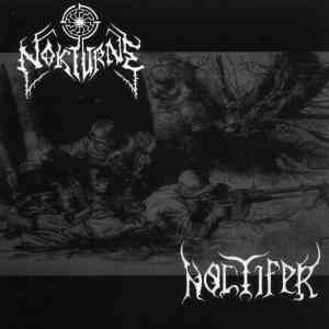 Nokturne & Noctifer - Wargod Domination [split] (2007)