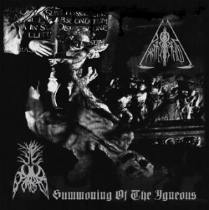 Pyrifleyethon & Ophidian Forest - Summoning Of The Igneous (2011) (Split)