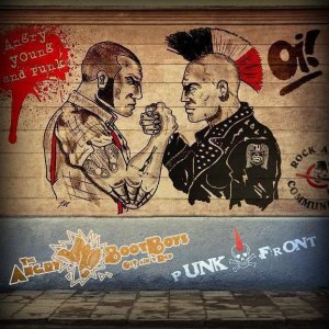 Angry Bootboys & Punkfront - Angry young & punk  (2012)