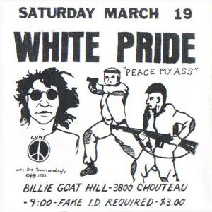 White Pride – Peace my ass (1983)