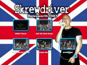 Skrewdriver - Live in Halesworth 1987 (DVD)