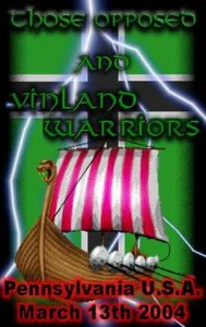Those Opposed & Vinland Warriors - Altoon, Pennsylvania, March 13th 2004 (DVDRip)