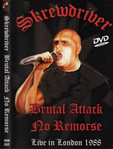 Skrewdriver, Brutal Attack & No Remorse - Live in London 1988 (DVDRip)
