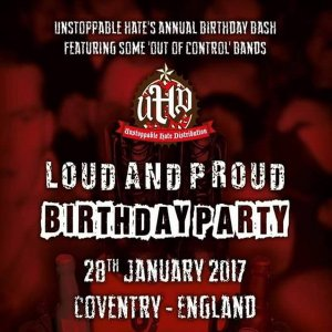 I.C.1 & Mistreat - Live in England 28.01.2017 (HD)