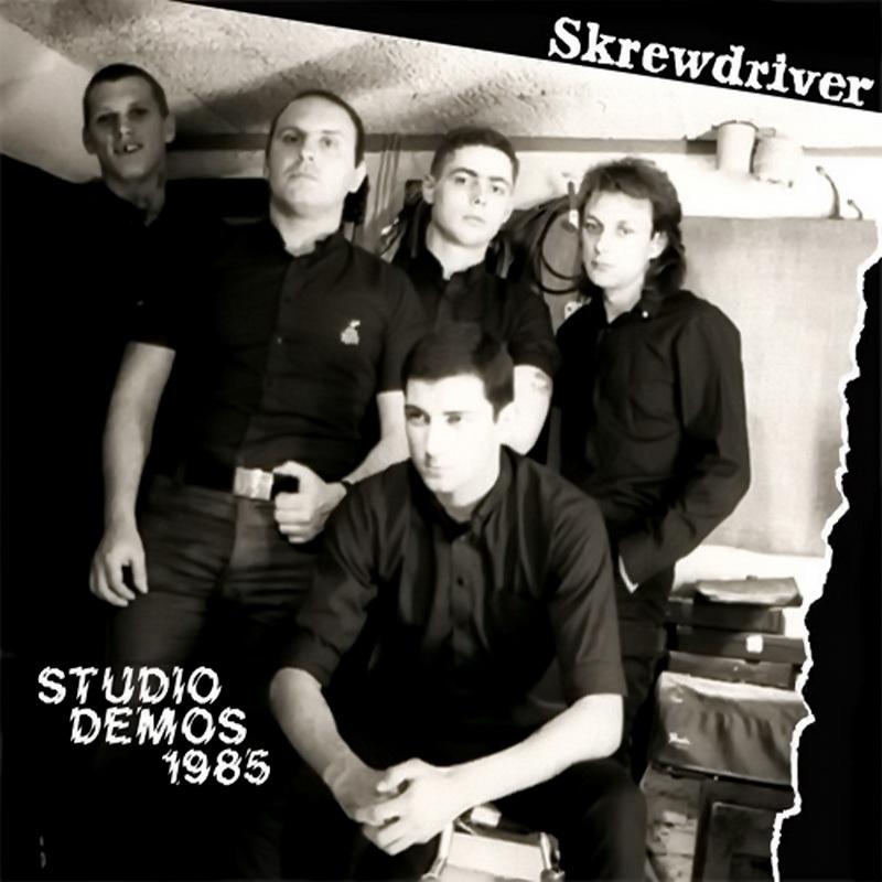 Skrewdriver - Studio Demos 1985 (2017)