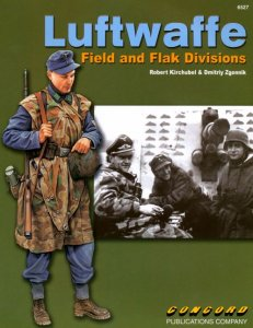 Luftwaffe - Field and Flak Divisions (Сoncord № 6527)