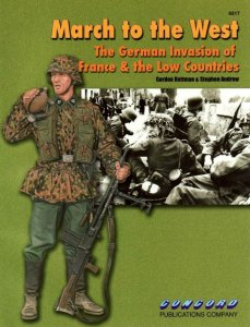 March to the West - The German invasion of France & the Low Countries (Concord №6517)