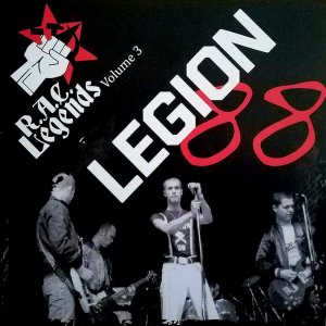 Legion 88 ‎- R.A.C. Legends Volume 3 (2016)