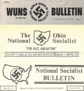 National Socialists Bulletin №№ 7, 16, 21