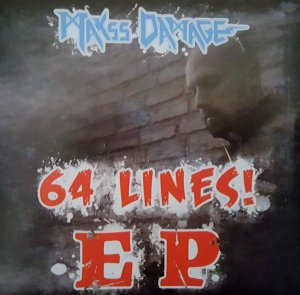 Makss Damage - 64 Lines (2018)