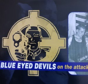 Blue Eyed Devils ‎- On The Attack (2020)