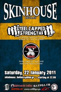 Steelcapped Strength - Live at Skinhouse Hellas 22.01.2011
