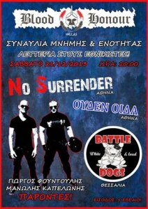 Battle Dogs, No Surrender & Ouden Oida - Memorial Gig 21.12.2013